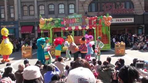 Sesame Street's Magical Market(USJ-2009)