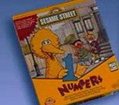 Sesame Street numbers 1997 cover