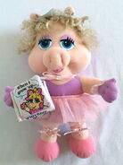Direct connect 1991 when i grow up baby piggy ballerina plush 1