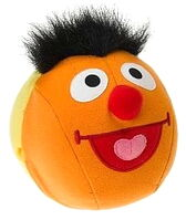Fisher price double fun giggle ball plush ernie
