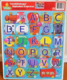 Golden 1986 twiddlebug frame tray puzzle