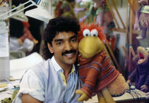 Sugith Varughese and a Fraggle