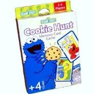 Cookie Hunt Memory Card Game