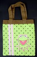 Kermit polkadot tote bag