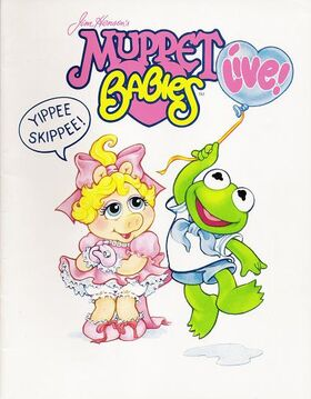 MUPPET BABIES LIVE COVER