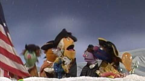 Sesame Street Surprising the British