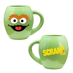 Vandor oscar oval ceramic mug