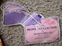 Allison mfg co 1986 muppet collection piggy shirt 3