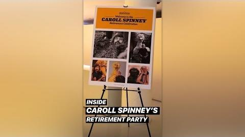 Caroll Spinney's retirement party