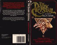 Dark Crystal novel UK cover and back