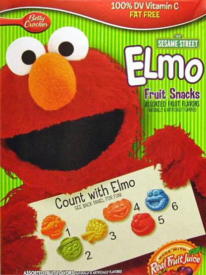 Elmofruitsnacks