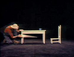 George Farmer saw table