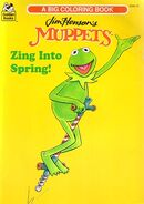 Muppet coloring books