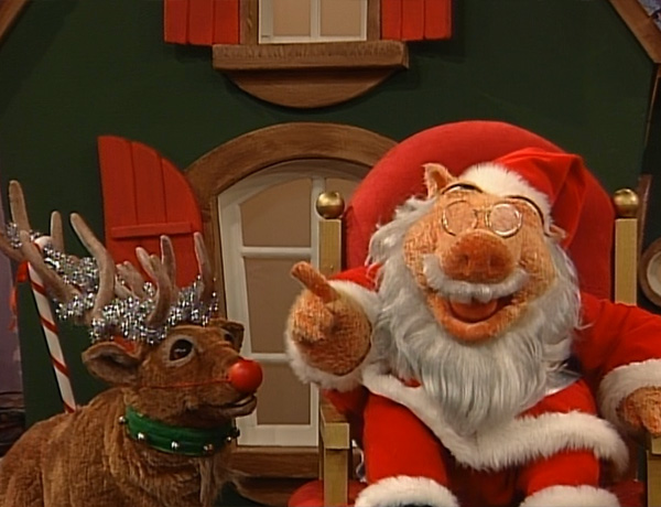 episode 325 a berry bear christmas 1 muppet wiki fandom powered by wikia - Bear In The Big Blue House A Berry Bear Christmas