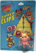 Hg toys 1985 muppet babies zipper clips 4
