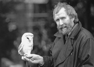 Jim Henson and Labyrinth owl