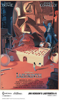 Labyrinth ongoing comic 01 Laurent Durieux