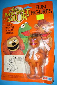 Palitoy 1979 muppet show fun figures fozzie bear uk
