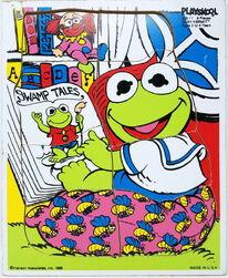 Playskool puzzle kermit swamp tales