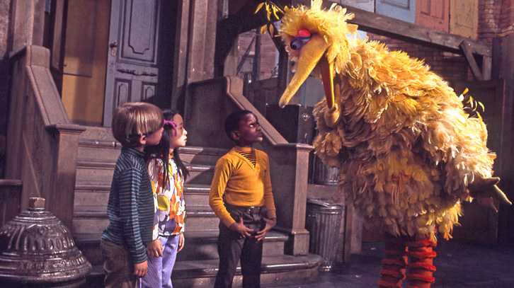 Image result for sesame street movie big bird variety