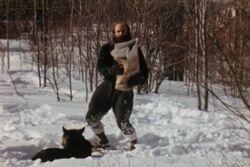 Snowshoes-garbage