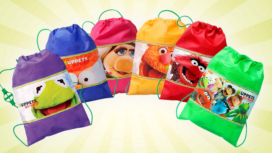 Subway Muppets Most Wanted backpacks | Muppet Wiki | FANDOM
