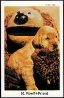 Sweden swap gum cards 50 rowlf friend
