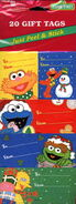 American greetings 1999 sesame gift tags 2