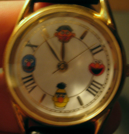 Fossil sesame street general store exclusive faces watch