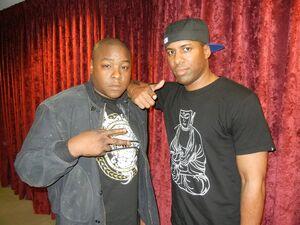 Jadakiss and DJ Whoo Kid