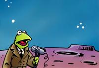 Reporter Kermit comic Kermit's Story