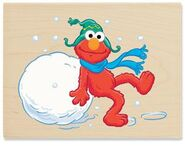 Stampabilities winter fun for elmo