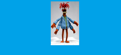 Pepe the King Prawn poseable action figure