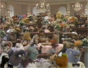 Muppet Family Dinner