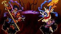Seitaku Doji and Kongara Doji