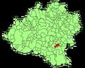 Alentisque (Soria) Mapa