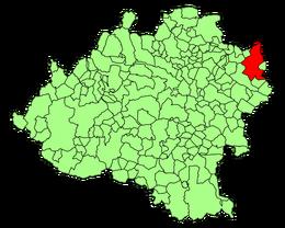 Ágreda (Soria) Mapa