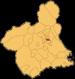 Localización d'Arguazas