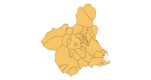 Murcia - Mapa municipal