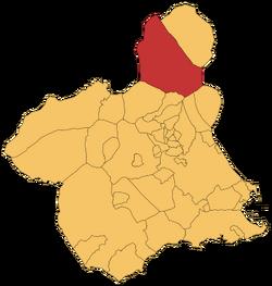 Localización e Jumilla