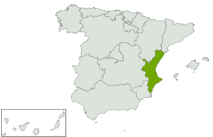 Comuniá Valenciana