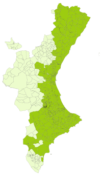 Terraje e la llengua valenciana