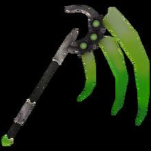 Green Laser Scythe