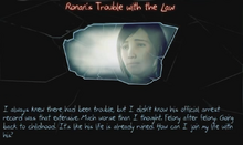 -16 Ronan's Trouble with the Law