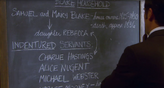 309 Love and Human Remains Blackboard 2