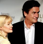 Peter Keleghan and Leah Pinsent