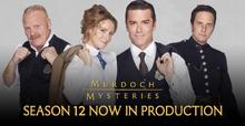 Murdoch Mysteries Season 2 banner