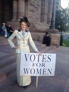 Julia Vote for Women