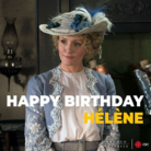 A very happy birthday to Dr. Julia Ogden herself the inspiring Hélène Joy