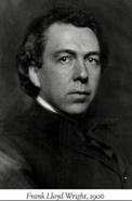 Frank lloyd wright 1906